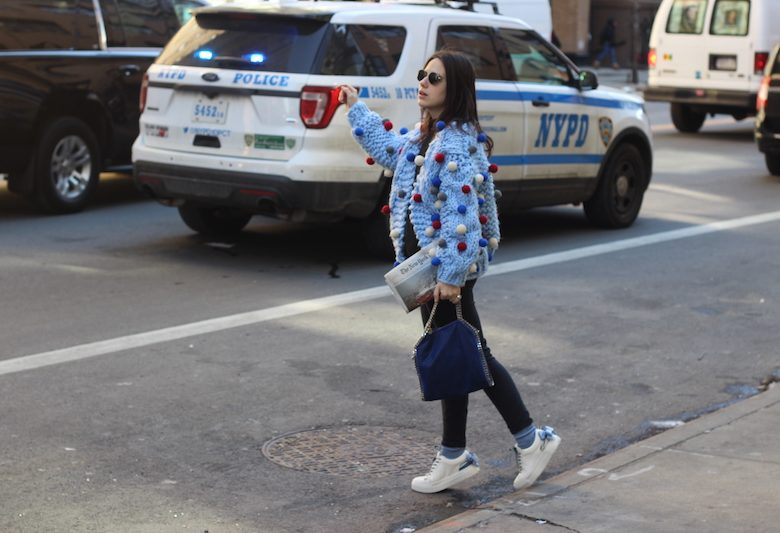 eleonora milano nyfw new york times stella mccartnery falabella